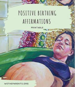 Positive Birth Affirmations